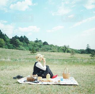 ピクニックの写真・画像素材[3053869]