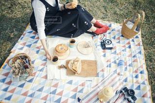 ピクニックの写真・画像素材[3053923]
