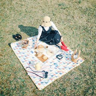 ピクニックの写真・画像素材[3053924]