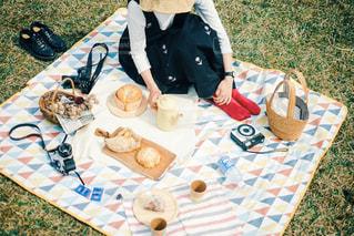 ピクニックの写真・画像素材[3053925]
