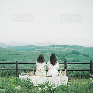ピクニックの写真・画像素材[3142391]