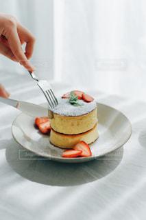 パンケーキの写真・画像素材[3195743]