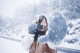 冬の思い出の写真・画像素材[4047412]
