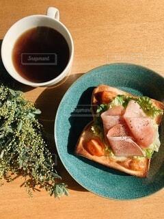 朝ごはんの写真・画像素材[4155198]