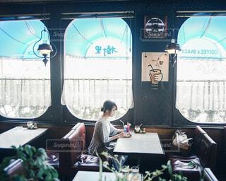 喫茶店の写真・画像素材[4585497]