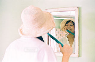 大きな歯ブラシの写真・画像素材[2475294]