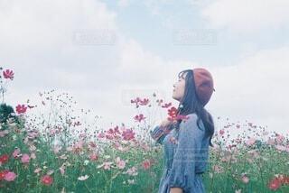 秋を感じての写真・画像素材[3757704]