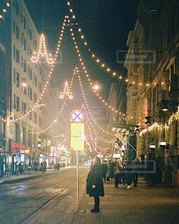 フィンランドの夜景の写真・画像素材[4074902]