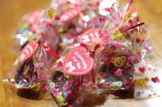手作りのバレンタインチョコレートの写真・画像素材[2382369]