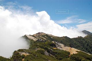 山頂から見た景色の写真・画像素材[2436609]
