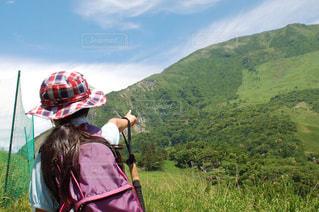 目指すは山頂の写真・画像素材[2964174]