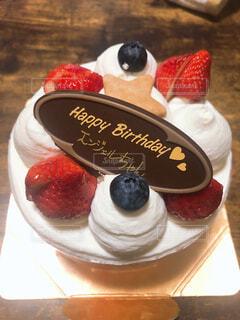 誕生日ケーキの写真・画像素材[4389568]