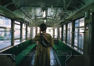 ワンピース,電車,女の子,レトロ,フィルム,フィルム写真,フィルムフォト