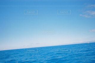 海,空,青,水面,水平線,ハワイ,フィルム,フィルム写真,フィルムフォト