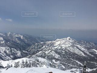 自然,アウトドア,空,スポーツ,雪,屋外,晴れ,雪山,山,人物,スキー,ゲレンデ,高原,眺望,レジャー,スキー場,斜面