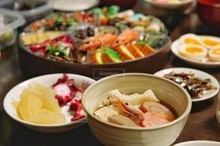 新年最初の食事。の写真・画像素材[2876486]