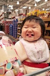 ぶちゅーな笑顔!の写真・画像素材[3618097]