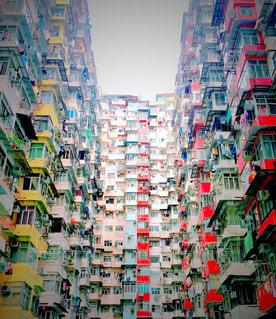 混雑した街の写真・画像素材[1019498]