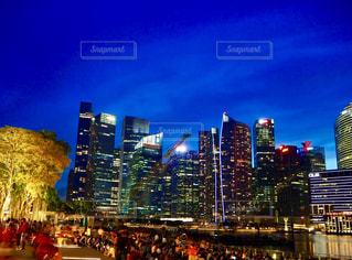 シンガポールの夜景の写真・画像素材[2769374]