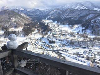山寺からの眺めの写真・画像素材[2833303]