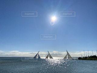 空と海の写真・画像素材[2858171]