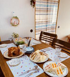 クリスマスは、ホームパーティー。の写真・画像素材[2824304]