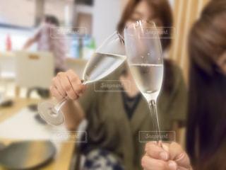 日本酒,グラス,乾杯,ドリンク