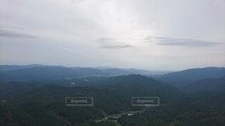 山の眺めの写真・画像素材[2437192]