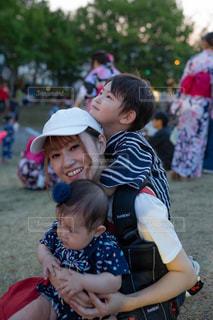 ママ大好き!の写真・画像素材[2448368]