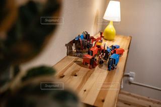 リビングルームの眺めの写真・画像素材[2892175]