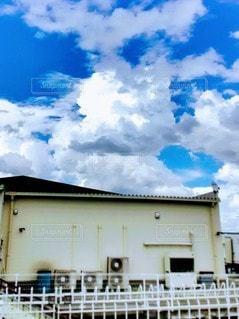 雲は地球の芸術品の写真・画像素材[2424456]