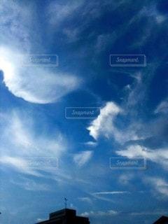 絹雲の写真・画像素材[2426036]