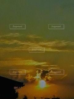 夕焼けの眺めの写真・画像素材[2426864]