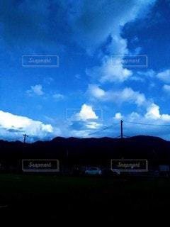 雲の集合体の写真・画像素材[2434881]