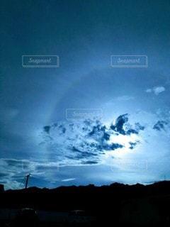 神秘的な空の写真・画像素材[2462433]