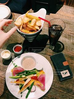 食事,カラフル,野菜,サラダ,デート,ポテト,彩,バーニャカウダ,食欲の秋