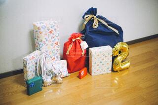 たくさんのプレゼントの写真・画像素材[4409521]