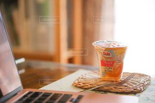 食べ物,フルーツ,果物,休憩,PC,仕事,楽しい時間,フルーツカップ