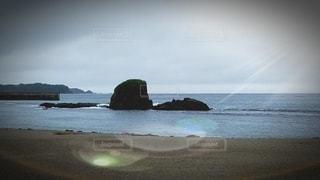 自然,風景,海,空,屋外,水面,海岸,フィルム,モアイ像,フィルム写真,フィルムフォト