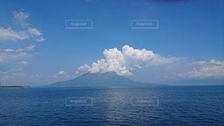 雲の大噴火の写真・画像素材[2431130]