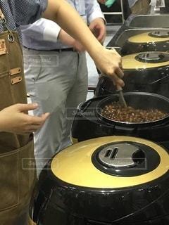 タピオカ用炊飯器の写真・画像素材[2413618]