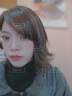 女性,人,顔,フィルム,目,リップ,まつげ,フィルム写真,首,フィルムフォト
