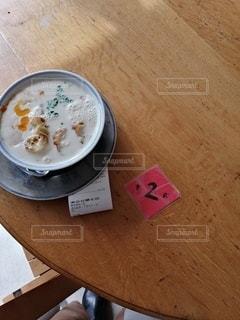 優しい豆乳粥の写真・画像素材[2490841]