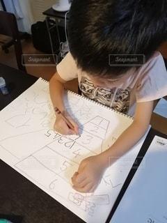 数字の練習の写真・画像素材[2494650]