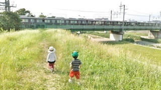 電車見に行こう!の写真・画像素材[2434199]