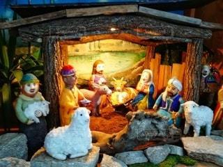 クリスマスの人形の写真・画像素材[2835078]