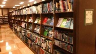 洋書が多い書店の写真・画像素材[2896382]