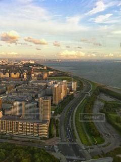 高層ビルからの風景の写真・画像素材[2421953]