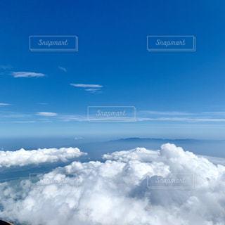 空に雲の群しをするの写真・画像素材[2416987]