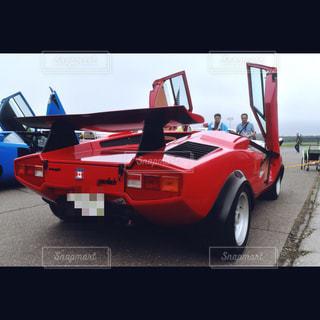 赤,車,北海道,写真,スポーツカー,フィルム,カナダ,ランボルギーニ,車両,フィルム写真,スーパーカー,帯広,カウンタック,ウルフ,フィルムフォト